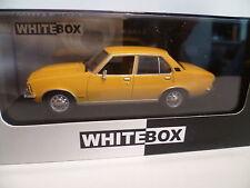 OPEL REKORD DIESEL JAUNE : WHITE BOX ~  NEUF