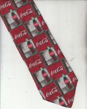 Coca Cola-Authentic-[Gold Premier Tie]-100% Silk-Made In Italy-CC2-Men's Tie