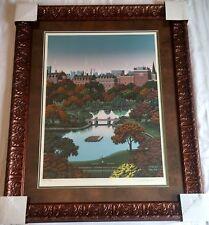 "Jim Buckels ""Boston Public Garden"" Limited Ed Hand Signed COA"