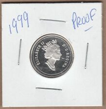 1999 Canadian Proof Five Cent from Proof Set.