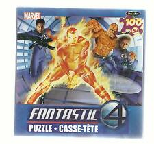 NEW ~ MARVEL ~ FANTASTIC FOUR  ~ 100 PIECE PUZZLE ~ FLAME ON!