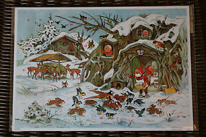 Calendar from Top Of Avent Traditional German, A4, Blister, Pattern to Choose