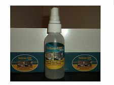 YELLOW OFF HEADLIGHT RESTORATION KIT SPRAY WITH FREE HEADLIGHT CLEANER WIPE SET