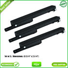 3-Pack Cast Iron Burner Replacement for Charbroil, Centro,Thermos Gas Grills