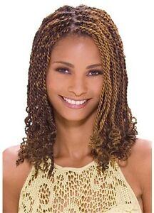 Model Model Glance Chunky Twist Braid Hair Extension  (Marley Braid)