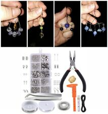 New Wire Jewelry Making Starter Kit Sterling Silver & Repair Tool Craft Supply