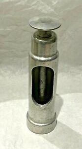 Vintage Italian Aluminium single piece Hand Corker gw corkscrew - rare piece