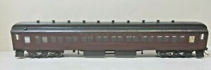 Pennsylvania Railroad 80' Coach 1943 Interior Lights Central Valley Trucks Built