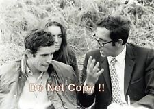 Jacky Ickx & Mauro Forghieri Ferrari Portrait French Grand Prix 1970 Photograph
