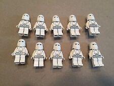 LEGO Snow Trooper Lot of 10 Star Wars Minifigure minifig Huge LOT Clone B376