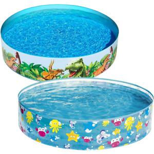 Bestway Childrens Kids Paddling Pool Rigid Swimming Garden Play Pool