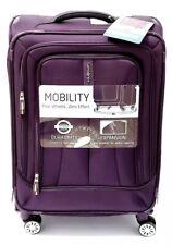 "NEW Samsonite Fenno 24"" Spinner Luggage Suitcase Purple Carried On Lightweight"