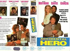 ACCIDENTAL HERO - Hoffman -VHS-PAL-NEW-Never played!-Original Oz release - RARE!