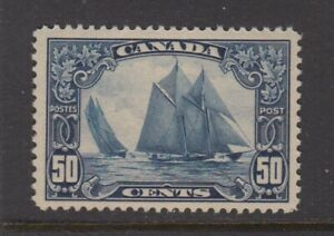 CANADA  158 Bluenose  VF NH dulled gum