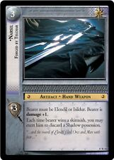 LOTR TCG Narsil Forged In Telchar 17R31 Rise of Saruman Lord of the Rings NM