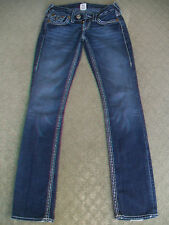 TRUE RELIGION 'BILLY BIG T' JEANS WMN SIZE 7
