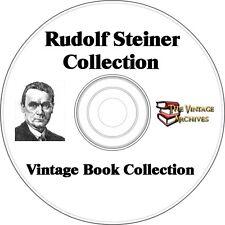 Rudolf Steiner Vintage Book Collection on CD  - 6 Books