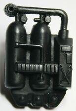 Lanard CORPS Military Vintage Accessory Backpack Flamethrower Gas Tanks Black