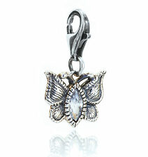CHRYSALIS Sterling Silver Vintage Butterfly Charm