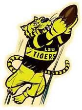 LSU Tigers  University   Vintage  1960's Style  Souvenir  Bumper Sticker decal