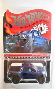 2018 HOT WHEELS RLC EXCLUSIVE '17 FORD F-150 RAPTOR SPECTRAFLAME BLUE