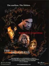 DREAMLESS Eric Etaberi / Billy Drago+5 Cast SIGNED Autograph 8.5 x 11 Photo Card