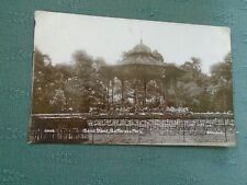 1913 BANDSTAND BAND STAND BATTERSEA PARK - RP LONDON POSTCARD