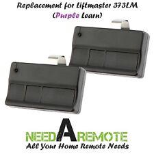 2 Replacement for Liftmaster 373LM Car Garage Door Remote Opener
