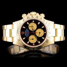 Rolex 18K YG Daytona Men's Watch Lot 429