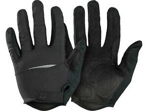 NEW! Bontrager Circuit Full FInger Cycling Bike Women's Gloves Black Small 7