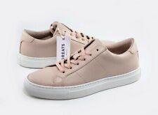 NEW Greats Royale Womens Shoes Blush Perforated Leather Italian Sneaker Sz 9.5