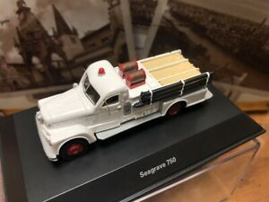 Best of Show 1/87 Seagrave 750 W Fire Vehicle car model resin by for collection