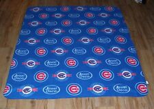 Chicago Cubs Fleece throw Blanket 'A Century of' 1916-2016 Wrigley Field SGANew