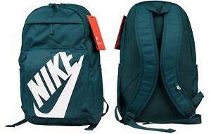 Nike Elemental Rucksack Backpack Unisex Sportswear Sport School Bag Gym Marine