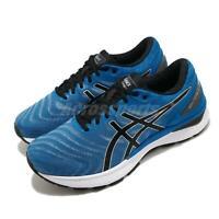 Asics Gel-Nimbus 22 4E Extra Wide Blue Black White Men Running Shoe 1011A682-405