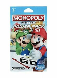 Monopoly Gamer Power Pack Fire Mario New In Pack Unopened