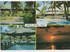 Hyatt Hotel Bali Postcard 474a