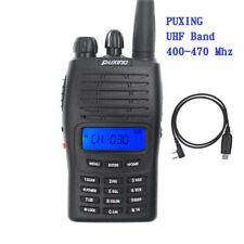 PUXING PX-777 UHF 400-470Mhz 2 Way Radio 5W 128 Channels 1200mAh with usb Cable