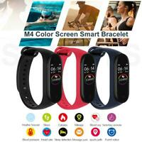 M4 Smart Bracelet Fitness Tracker Blood Pressure Heart Rate Sleep Detection