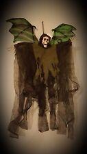 Winged Reaper 2ft SKELETON Angel HALLOWEEN HANGING SKULL DECORATION PROP SHOP