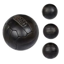 Vintage 1966 Leather Soccer Ball  Football - Dark Brown