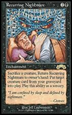 1X Recurring Nightmare - Exodus - * Japanese, LP  * MTG CARD