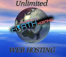 Super Rapide Unlimited hébergement Web Nouveau Disque Dur SSD serveurs moyenne temps d'ouverture .25 S