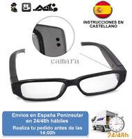 Gafas intelectual con videocamara camara oculta grabacion espia (Envio express)