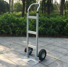 550 lb Capacity Aluminum Hand Truck / 2 Wheel Dolly Moving Cart Boxes
