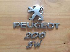 PEUGEOT 206 SW rear badge logo emblem 9645213180 (D14)
