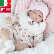 "17"" Bambole Hot Sale Lifelike Silicone Reborn Baby Doll Playmat Regalo di Natale"
