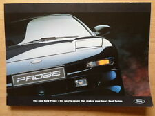 FORD PROBE 1994 UK Mkt mailer promo brochure from launch