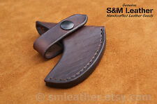 Cold Steel Pipe Hawk Tomahawk Brown Leather Sheath Cover only