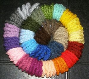 """100 Crochet Centers For Granny Squares 1.5"""" ~ Assorted Colors"""